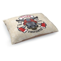 Firefighter Dog Bed (Personalized)