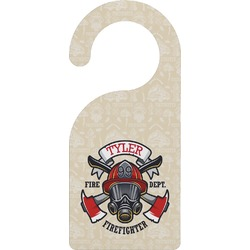 Firefighter Door Hanger (Personalized)
