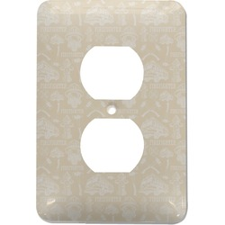 Firefighter Electric Outlet Plate (Personalized)