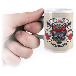 Firefighter Espresso Cups (Personalized)