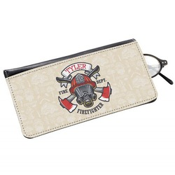 Firefighter Genuine Leather Eyeglass Case (Personalized)