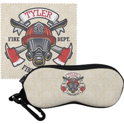 Firefighter Eyeglass Case & Cloth (Personalized)