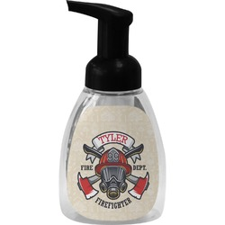 Firefighter Foam Soap Bottle (Personalized)
