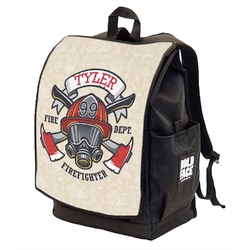 Firefighter Backpack w/ Front Flap  (Personalized)