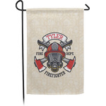 Firefighter Garden Flag - Single or Double Sided (Personalized)