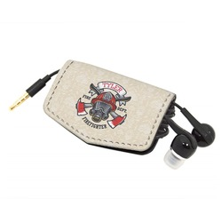 Firefighter Genuine Leather Cord Wrap (Personalized)