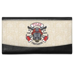 Firefighter Genuine Leather Ladies Wallet (Personalized)