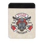 Firefighter Genuine Leather Money Clip (Personalized)