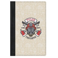 Firefighter Genuine Leather Passport Cover (Personalized)