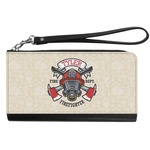 Firefighter Genuine Leather Smartphone Wrist Wallet (Personalized)