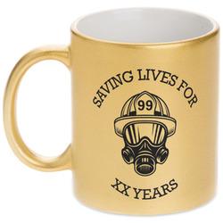 Firefighter Gold Mug
