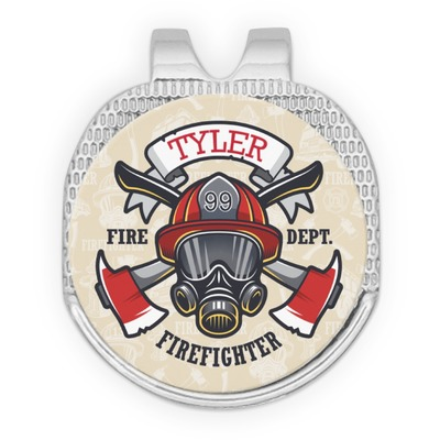 Firefighter Golf Ball Marker - Hat Clip