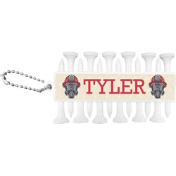 Firefighter Golf Tees & Ball Markers Set (Personalized)