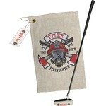Firefighter Golf Towel Gift Set (Personalized)
