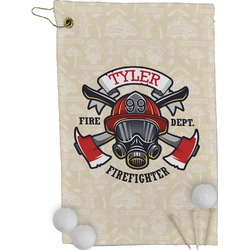 Firefighter Golf Towel - Full Print (Personalized)