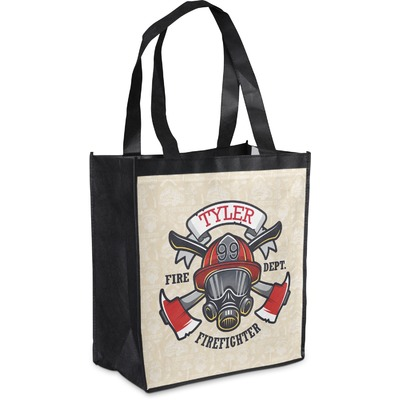 Firefighter Grocery Bag (Personalized)