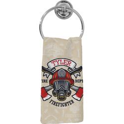 Firefighter Hand Towel - Full Print (Personalized)