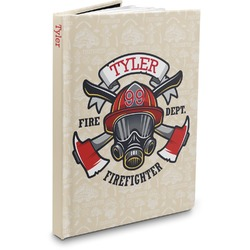 Firefighter Hardbound Journal (Personalized)