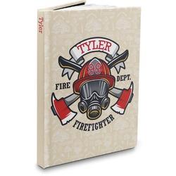 Firefighter Hardbound Journal (Personalized)