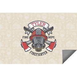 Firefighter Indoor / Outdoor Rug (Personalized)