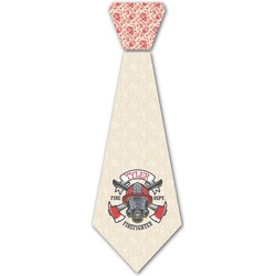 Firefighter Iron On Tie (Personalized)