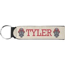 Firefighter Neoprene Keychain Fob (Personalized)