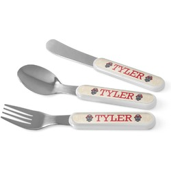 Firefighter Kid's Cutlery (Personalized)