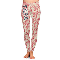 Firefighter Ladies Leggings - Extra Large (Personalized)