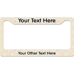 Firefighter License Plate Frame (Personalized)