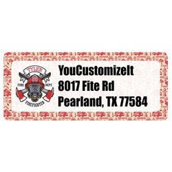 Firefighter Return Address Label (Personalized)