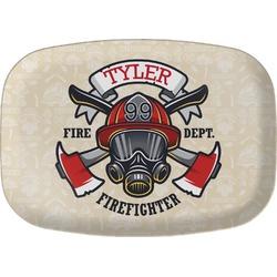 Firefighter Melamine Platter (Personalized)