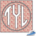 Firefighter Monogram Iron On Transfer (Personalized)