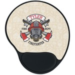 Firefighter Mouse Pad with Wrist Support
