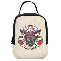 Firefighter Neoprene Lunch Tote (Personalized)