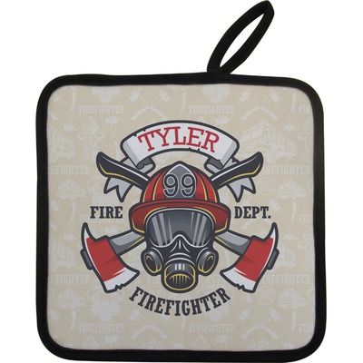 Firefighter Pot Holder (Personalized)