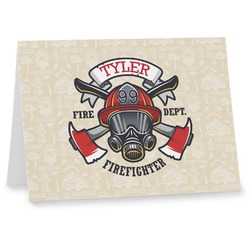 Firefighter Note cards (Personalized)