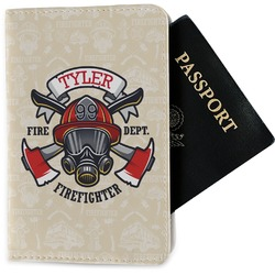 Firefighter Passport Holder - Fabric (Personalized)