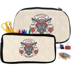 Firefighter Neoprene Pencil Case (Personalized)