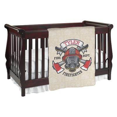 Firefighter Baby Blanket (Personalized)