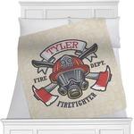 Firefighter Minky Blanket (Personalized)
