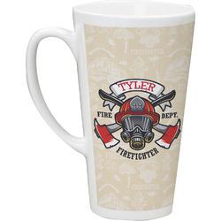 Firefighter 16 Oz Latte Mug (Personalized)