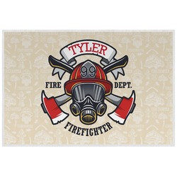 Firefighter Placemat (Laminated) (Personalized)