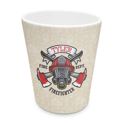 Firefighter Plastic Tumbler 6oz (Personalized)