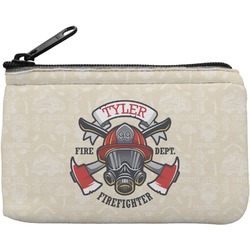 Firefighter Rectangular Coin Purse (Personalized)