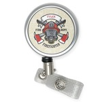 Firefighter Career Retractable Badge Reel (Personalized)