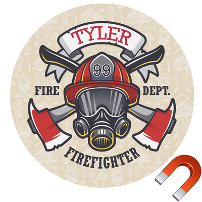 Firefighter Car Magnet (Personalized)