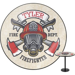 Firefighter Round Table (Personalized)