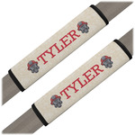 Firefighter Seat Belt Covers (Set of 2) (Personalized)