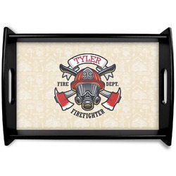 Firefighter Wooden Trays (Personalized)