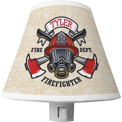 Firefighter Shade Night Light (Personalized)